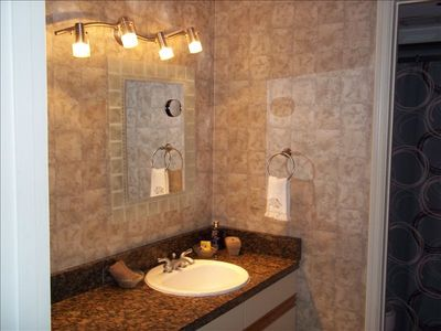New Smyrna Beach condo rental - Guest bathroom