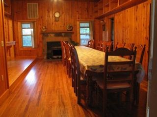 Mountain View house photo - Cookhouse Dining Area Seats 20