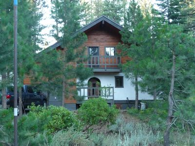 An Austrian chalet sitting in a great location within Northstar California resor