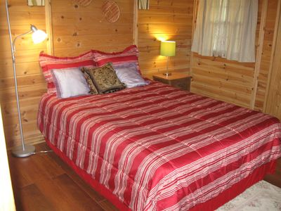 Private bedroom with queen bed. Sleeps 2