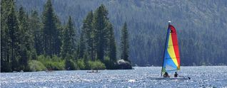 Truckee cottage photo - Donner Lake, Sailing, Private Beach, Boat Rentals, less than 10 minutes