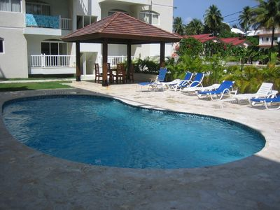 Beach Residency Community Pool and Gazebo