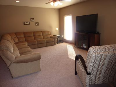 Large section in family room