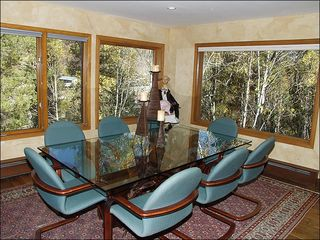 Vail house photo - Dining Room with Huge Picture Windows