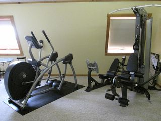 Littleton studio photo - New Workout Area with Hoist and Cybex