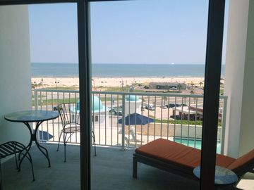 Galveston condo rental - Covered Patio