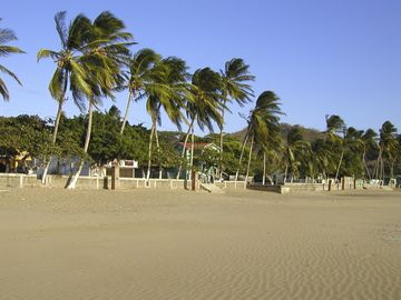 The lovely San Juan Del Sur Beach