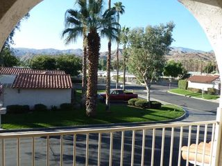 Palm Springs condo photo - View of mountains from upstairs balcony (where you relax in the evenings)