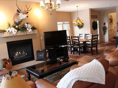 Avon townhome rental - Designer's River Front Home by Gondola & Starbucks! Adventure Your Way!