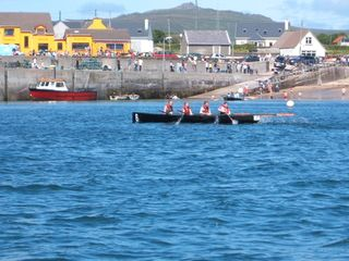 Dingle Peninsula cottage photo - Regatta day in Ballydavid.
