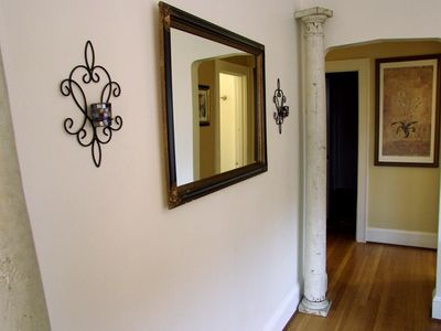 Antique columns and decor