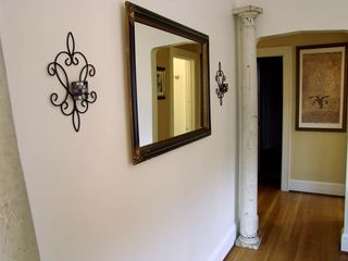 Portland apartment photo - Antique columns and decor