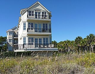 5 Bedroom 5 Bath 3 Story House Ocean Front Views Private
