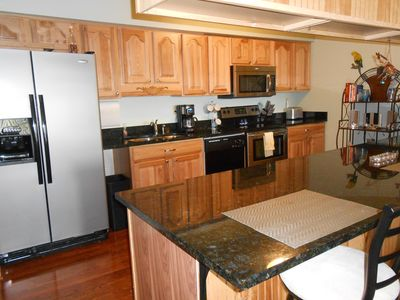 Very nice updated kitchen with granite counter tops.
