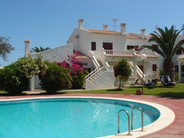 Alcossebre apartment rental - View of pool and apartment