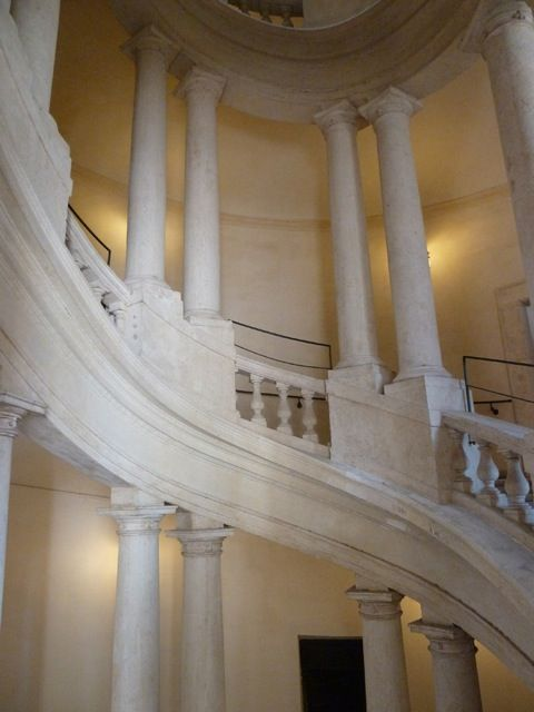 Nearby is Palazzo Barberini. The striking staircase was designed by Bernini.