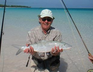 Great Exuma cottage photo - Bonefishing adjacent to cottages