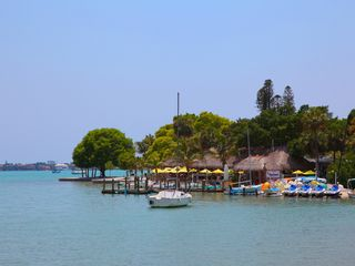 Sarasota cottage photo - Walk to Harbor! Tiki Bar, Restaurants, Boat Rentals, Park.