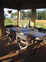 Point Prim house photo - large screened porch