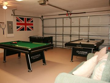 villa's game room