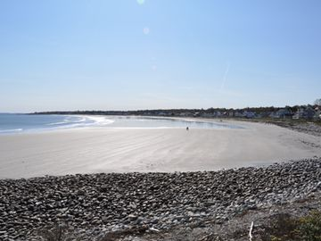 Jenness Beach on a calm day.