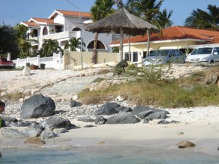 Aruba studio photo - The house, sandy beach is next to this beach