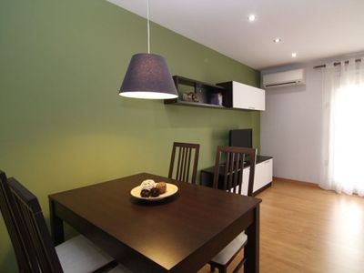 Barrio Gotico apartment rental - Dining area