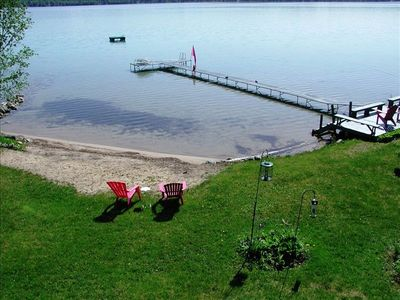 Spacious Home On Torch Lake With Sandy Beach Vrbo