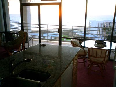 South Padre Island condo rental - Kitchen View