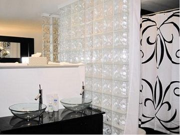 Other Scottsdale Properties apartment rental - Bathroom with Dual Sinks & Jacuzzi with Shower