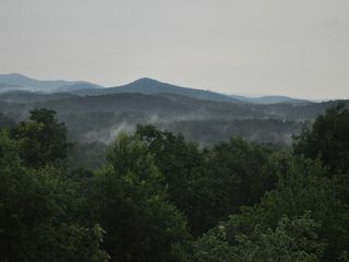 Blue Ridge cabin photo - View after a storm