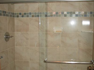 Tahoe Valley condo rental - New shower
