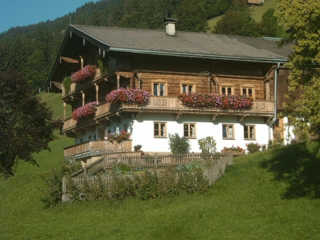 420 years old farm at the foot of the Hohe Salve - Filz-Alm