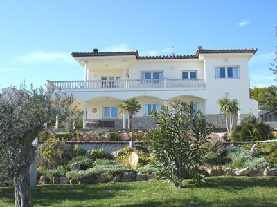 L'Escala villa rental - The Villa and gardens