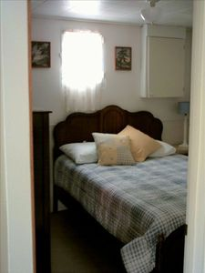 Spider Lake cabin rental - Buckles Cabin Bedroom #2
