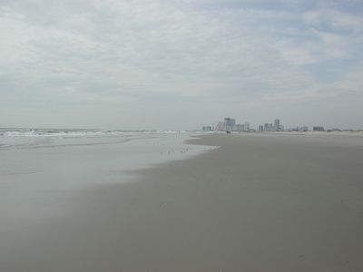 39 th St Beach with Atlantic City view