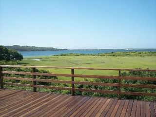 Chilmark cottage photo - Deck left