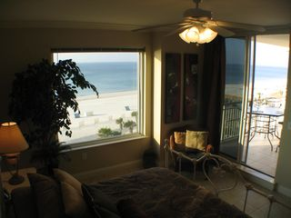 Perdido Key condo photo - Master Bedroom-King Pillowtop, Beautiful View from 5th Floor!