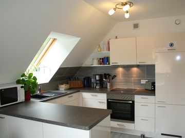 The comfortable, fully-equipped kitchen!