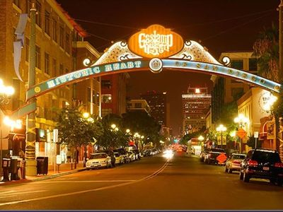 San Diego Gaslamp District 15 minute drive