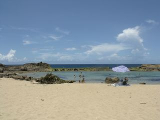 Aguadilla villa photo - One of several beautiful isabela ponds also surfing spots along the way