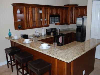Open Granite Kitchen
