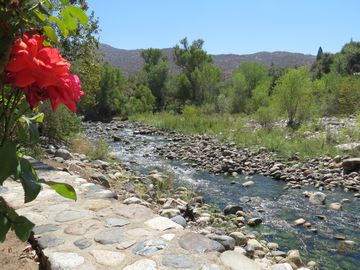 Three Rivers house rental - Your spectacular view from the edge of the deck at the Kaweah River Haus.