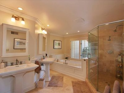 Rancho Santa Fe house rental - Master Bathroom