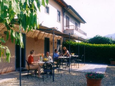 Podere Zollaio - The patio