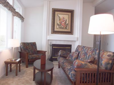 Hansville house rental - family room