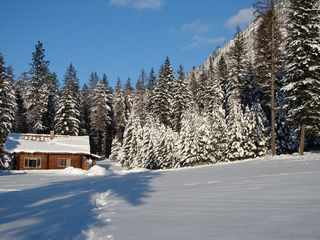 Noxon cabin photo - winter view