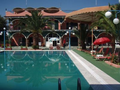 Agios Ioannis hotel rental - Studio's Pool, room view