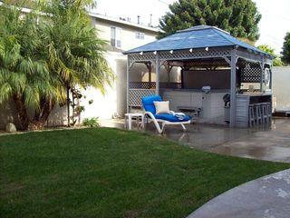 Huntington Beach house photo - Backyard Jacuzzi: Open 24/7