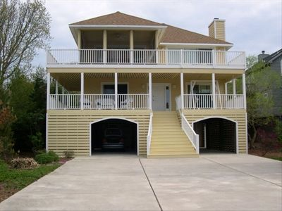 Front of the beachhouse